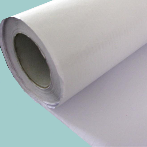 White Natural Kraf White Polypropyl Film Scrim (Model WPSK3550)