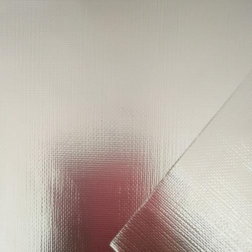 Flame Retardent Double-side Alu. Film Fiberglass Cloth (Model FGS702FR)