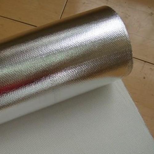 Flame Retardent Single-side Alu. Foil Fiberglass Cloth (Model FG701FR)