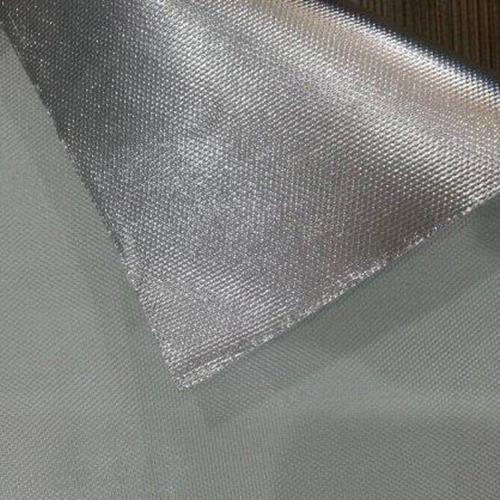 Flame Retardent Single-side Alu. Film Fiberglass Cloth (Model FG702FR)