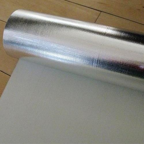 单面镀铝膜玻纤布(型号FG702)