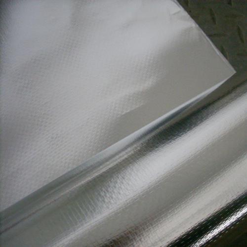 单面镀铝膜编织布(型号FW1280)