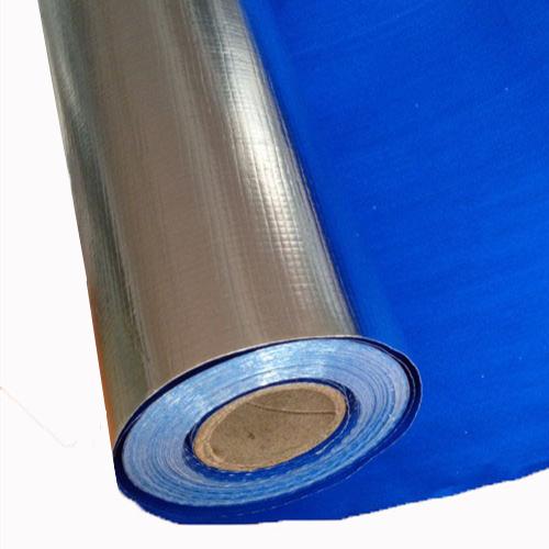 单面蓝色铝箔编织布(型号FW780-B)
